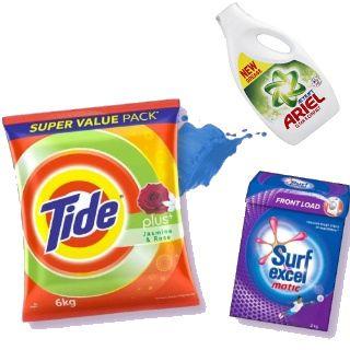 Detergents (Surf Excel, Tide & More) at Upto 35% of