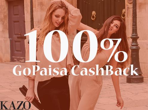 (100% GoPaisa CashBack Offer) On Western Wear for Ladies