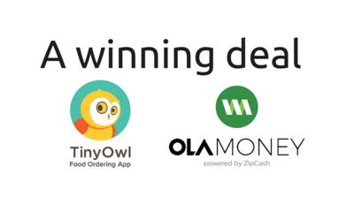 40% Cashback on orders on TinyOwl paid via Ola Money
