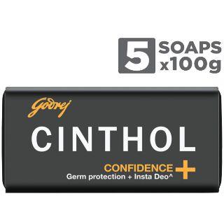 Buy Cinthol Soap 5pcs at Rs.78 (Pay Rs. 128 at Amazon & Get Rs. 50 GP Cashback)