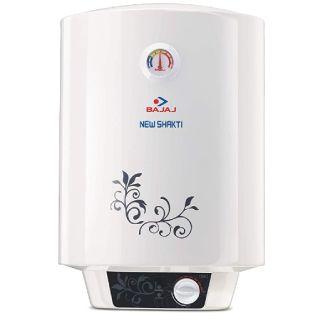 Save 37% on Bajaj New Shakti Storage 25 Litre Vertical Water Heater, White, 4 Star