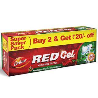 29% Off on Dabur Red Gel, 150g (Pack of 2)