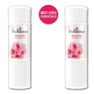 1 Enchanteur Romantic Talc + 1 Enchanteur perfumes worth Rs.320 at Rs.120 (After GP Cashback)