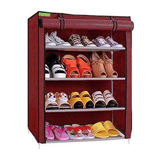 Flipzon Premium 4-Tiers Shoe Rack/Multipurpose Storage Rack