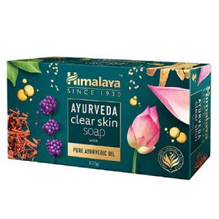 Himalaya Ayurveda Clear Skin Soap 125g (pack of 6)