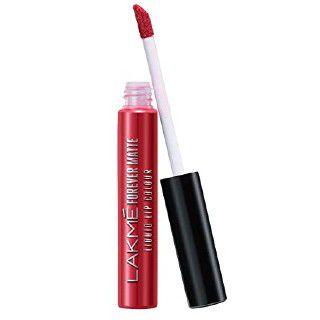Lakmé Forever Matte Liquid Lip Colour, Red Carpet, 5.6 ml