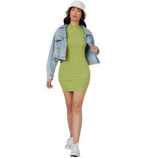 Neu Look Women's Bodycon short Dress