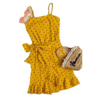 Flat 30% off on Peonies & more polka dot dress