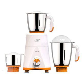Save 30% on V-Guard Mixer Grinder, 750W, 3 Jars (Orange White)
