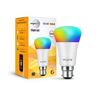 Flat 71% off on Wipro Wi-Fi Enabled Smart LED Bulb B22 9-Watt