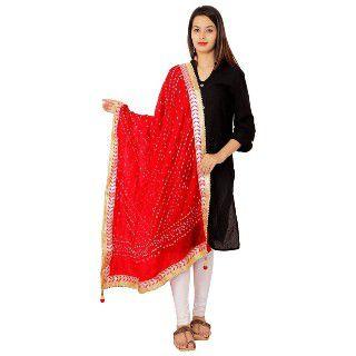 58% Off on Women's Printed Silk Dupatta