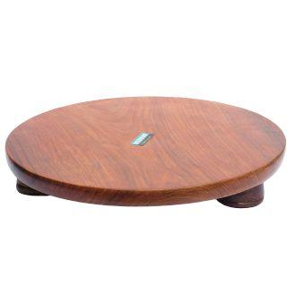 Flat 40% off on Woodino Shisham Wood Chakla | Size- 12 inch | Rolling Board