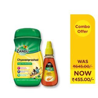 Zandu Honey (400g) & Zandu Chyavanprashad (900g) Combo