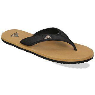 Adidas Men's khakhi Flip Flops just at Rs.249