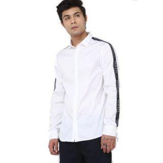 Worth Rs.10,999 ARMANI EXCHANGE Regular Fit Shirt at Rs.5834 + 10% GP Cashback