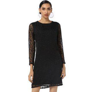 Flat 75% Off on RIO Layered Sheer Bodycon Dress