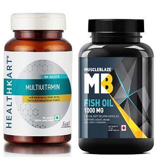 Vitamins & Supplements at Upto 60% Off