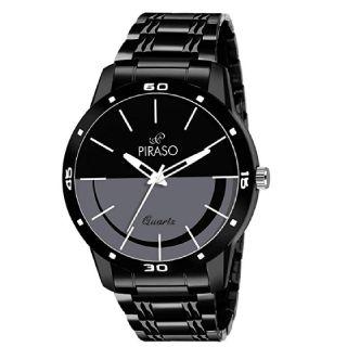 Flat 79% OFF On  Piraso Analogue Black Dial Men's Watch