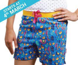 App Friday Birds Boxer Shorts for Girls