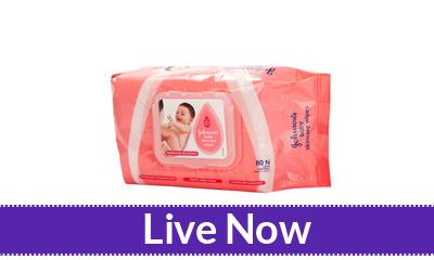 App Friday Johnsons Baby Skincare Wipes 80s