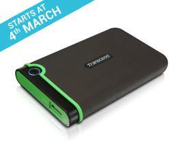 App Friday Transcend 1TB Portable External Hard Drive