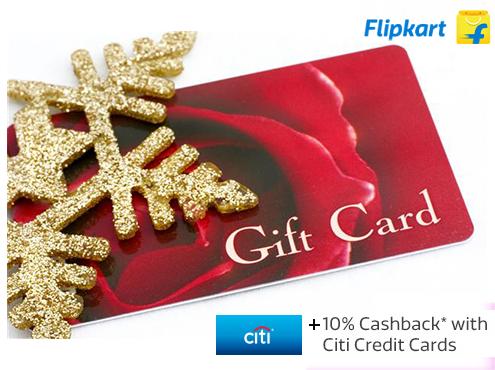 APP Offer - 10% CashBack + Extra 1.95% Instant Rewards on Flipkart Gift Card