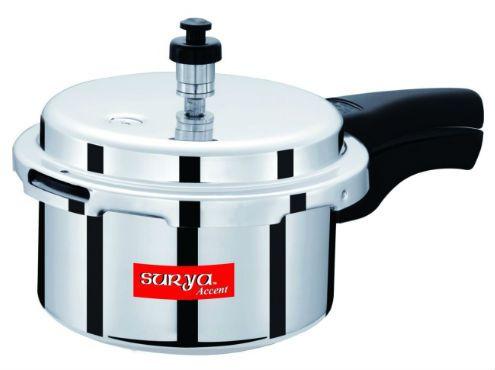 App Only - Surya Accent 3 Ltr Aluminium Pressure Cooker