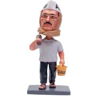Arvind Kejriwal Bobble Head 3D Figure at Best Price
