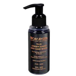 Buy worth Rs.699 Bioayurveda Tulsi Ginger Guard Dry Hand Wash -100 ML at Rs.299