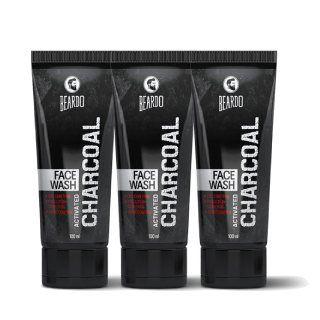 Beardo Activated Charcoal Facewash at Rs.299 worth Rs.750