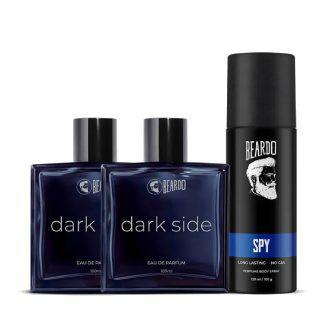 Worth Rs.3299 Beardo DarkNight Fragrance Combo at Rs.780 + GP Cashback