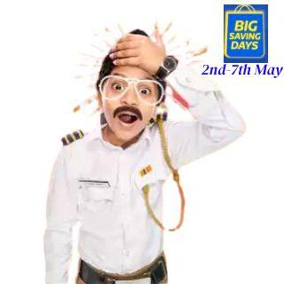 Big Saving Days till 7th May : Upto 80% off + Extra 10% off via HDFC Bank Cards