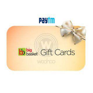 Paytm BigBasket vouchers- Get Flat 5% Paytm Cashback