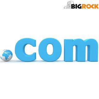 Get a .COM Domain at Rs.1198 for 2 Year at Big Rock