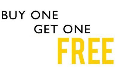Buy 1 Get 1 Free on Formal Shirts