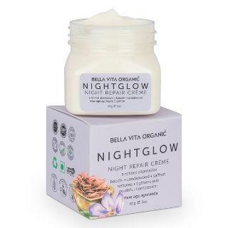 Get Flat 49% Off on Bella Vita Organic Night Glow Face Cream via coupon code + extra GP cashback