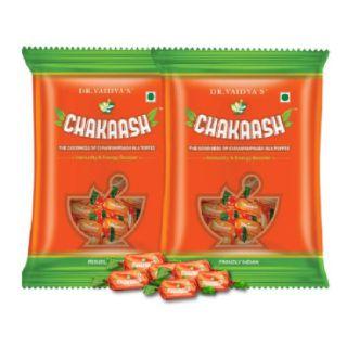 Chakaash: Ayurvedic Toffee with Chyawanprash Ingredients (Pack of Two)