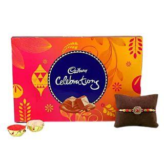 Flat 15% off on Designer Rakhi & Cadbury Celebrations Combo