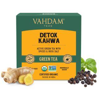 Detox Kahwa Green Tea Bags - 5 Days Pack
