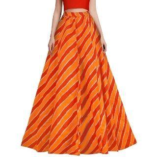 Flat 80% Off on DHUNKI Women's Maxi Skirt