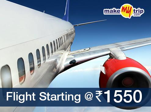 Domestic Flight Starting At Rs.1550
