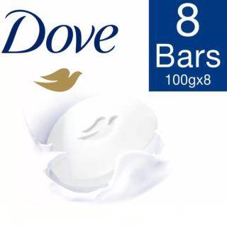 Flat 30% off On Dove Cream Beauty Bathing Bar  (100g*8)