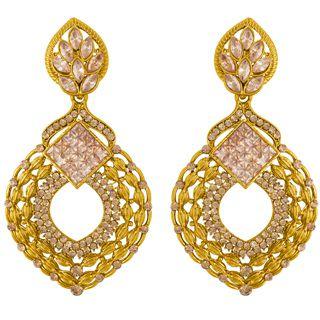 Ethnic Style Attractive Enamel Earrings: Voylla Offers