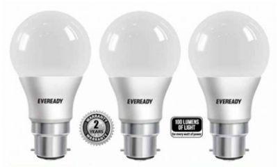 Eveready 7W 6500K LED Bulb (Pack Of 3)