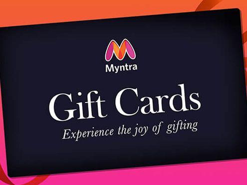 Myntra Brand Gift Cards