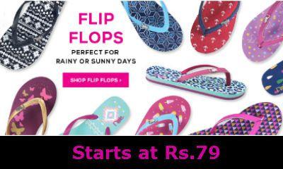 Flip Flops starts at Rs.79