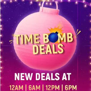 Time Bomb Deals :  New Deals at 12 AM    1 PM
