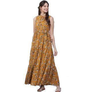 Flat 75% Off on TOKYO TALKIES  Women A-line Multicolor Dress