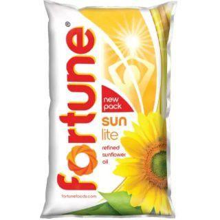 Flat 14% Off on Fortune Sunlite Refined Sunflower Oil (1 L)
