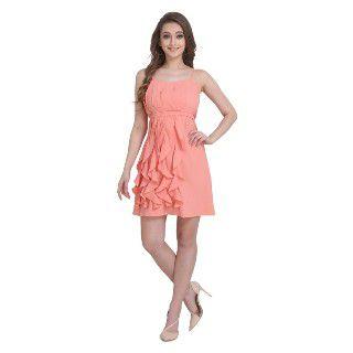 Clothzy Women's A-Line Midi Dress